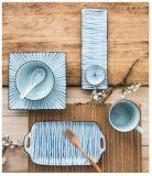 La vaisselle créatrice simple en gros de modèle a placé - le jeu en céramique de vaisselle de la Chine