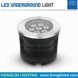Indicatore luminoso sotterraneo esterno di paesaggio rotondo 36W LED dell'edizione IP65 di aggiornamento