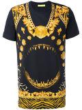 소매 금 인쇄 t-셔츠가 고품질 Mens에 의하여 누전한다