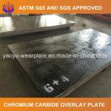 Piatto d'acciaio composito resistente dell'abrasione