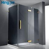 Стеклянное приложение ливня раздвижной двери
