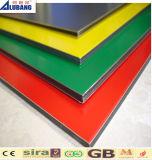 El panel compuesto de aluminio para el panel plástico de aluminio de la decoración interior