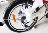 전기 자전거 20를 접히는 7 속도 콤팩트