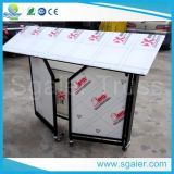 Чернота или White Folding Bar Counter, Folding Bar Table с Wheel, Folding Bar Table Outdoor