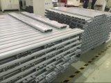 Алюминиевое квадратное вспомогательное оборудование мебели Европ пробки прессовало профиль