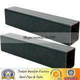 Tubo de acero del cuadrado del recocido del negro del material de construcción Q345