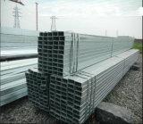 Tubo de acero Pre-Galvanizado del rectángulo de 60X40m m/tubo hueco de la sección