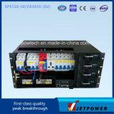 Het Systeem van de Gelijkrichter van Subrack 4u 220VAC/48VDC 120A
