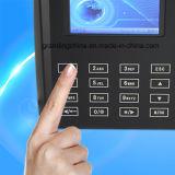触れられたキーパッド(QclearTC)が付いている生物測定の指紋の時間レコーダー