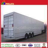 Grande Caixa Carga Van Semi Reboque para o caminhão