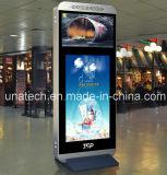 Androider Bank/Flughafen LCDvideoSignage Kiosk-Zeigen Handelskiosk-Bildschirm-Digitalanzeige an