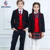 Chaqueta del uniforme escolar, uniforme escolar del invierno