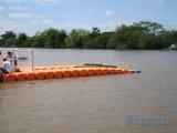 Muelle de Jetski del muelle el pontón de flotación