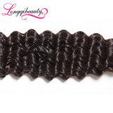 Heißes verkaufendes schnelle Anlieferungs-reine tiefe Wellen-peruanisches Jungfrau-Haar