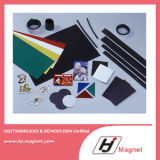 Imán plástico flexible de la venta caliente con diseño del cliente