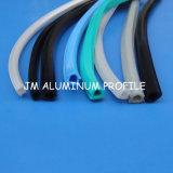 Aluminum Profile, Groove 6/8/10, Rubber Door Seal를 위한 밀봉 Strip