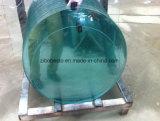 Подгонянное ясное Tempered/прокатанное стекло поплавка для загородки лестницы структурно