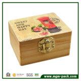 8 Tone Retro Manivelle Music Box en bois pour cadeau