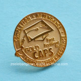 Pin Badge de Plated do ouro para Promotion