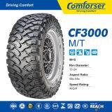 Neumático/neumático radiales fuertes de Comforser con condiciones del fango y de la nieve de SUV