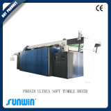 Máquina mullida del secador del acabamiento de la caída de la materia textil de la eficacia alta