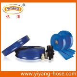 Manguito plano puesto PVC de la descarga, Manafacturer
