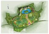 منظر طبيعيّ يخطّط حديقة [أريل] منظر عال قرار أداء