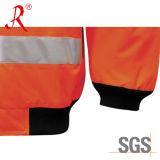 Отражательная куртка бомбардировщика для работы безопасности (QF-502)