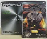 Mg Spitzendes verkaufs-Kraut-sexuelles Verbesserungs-Pille-Nashorn-7 des Platin-3000 für männlichen Libido-Verstärker