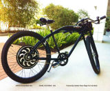 Motor eléctrico elegante con Bluetooth, regulador programable incorporado de la bicicleta 200W-500W de la empanada 5