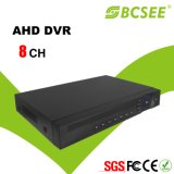 8 CH 720p Recording Ahd DVR with CE, RoHS, FCC