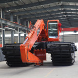 Katze Hydraulic Excavator mit Extendable Pontoon