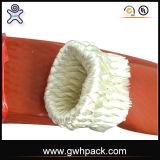 El caucho ignífugo al por mayor y de la venta al por menor de silicón sacó el envolver de la fibra de vidrio