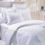 Jogo do fundamento da listra do algodão egípcio da coleção do hotel o melhor