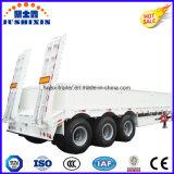 3 het Lage Bed van de as 50t-80t/Aanhangwagen van de Vrachtwagen van de Zijwand Lowboy de Semi voor Verkoop