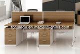 Bureau de Tableau de bureau de vente en gros de cloison de bureau (FOH-TLS2C-2)
