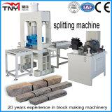 Máquina que parte de piedra hidráulica, máquina de piedra del cubo