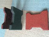 Estera antifatiga, azulejos estables de goma, estera de la gimnasia de la estera que se enclavija de goma a prueba de ácido