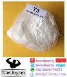 Sódio cru de Liothyronine do pó da droga da perda de peso da qualidade superior/T3