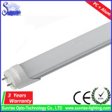 100lm/W aluminium de 1.2m 18W T8 LEIDENE Fluorescente Verlichting van de Buis