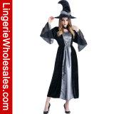 Costume sexy di Cosplay di immaginazione della strega delle donne del partito di Halloween