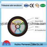 Todo el cable aislado PVC acorazado/Unarmored del cobre de las tallas/de aluminio del conductor de transmisión