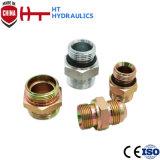 adaptateur hydraulique en caoutchouc hydraulique d'embout de durites d'adaptateur droit de boyau de 1B 1bg