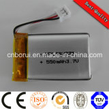 3.7V 780mAh Lithium Ion Battery mit PWB High Capacity Long Cycle Life für Flugschreiber GPS-Tracker Car
