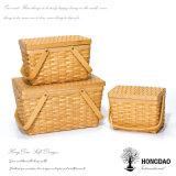 Cestino di vimini di memoria Handmade di alta qualità di Hongdao con Eco-Friendly_D