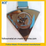 Medalha personalizada, funcionamento com o Fox, girando no meio