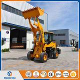 Mini chargeur de la Chine 1200 prix de machines de déplacement de terres de Zl 16 de chargeur de roue de chargeur de frontal de kilogramme