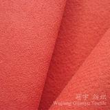 Tissu 100% de suède de polyester de duvet de Shammy pour le cuir à la maison