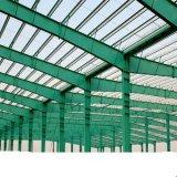 Atelier préfabriqué de structure métallique de grande envergure d'OIN