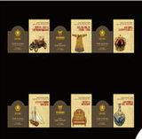 高品質のA4フライヤのプロリーフレットの本を広告する光沢のあるアートペーパー